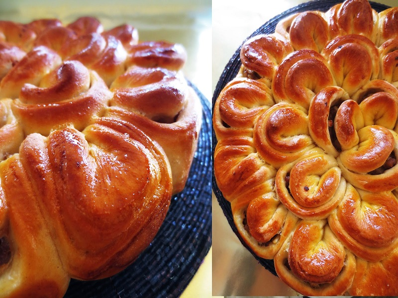 Мясной пирог «Хризантема» украсит любой праздничный стол, а готовится проще простого!