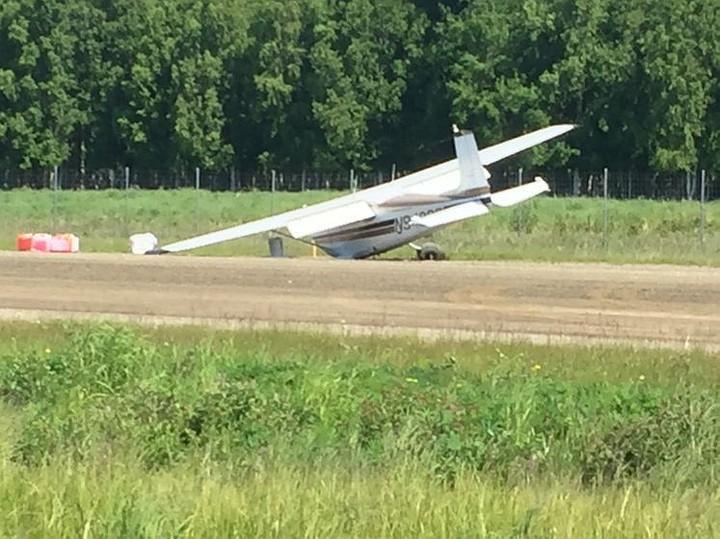 Над Аляской столкнулись два небольших самолета