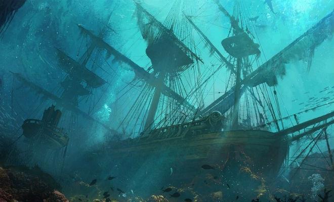 Затонувший корабль-призрак, который засекретили в СССР