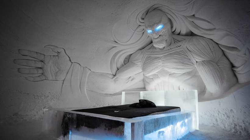 В Лапландии открылся ледяной отель в стиле «Игры престолов»