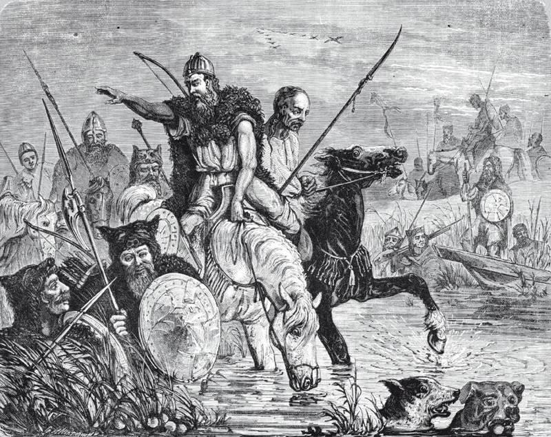 «Не посрамим земли русской» история