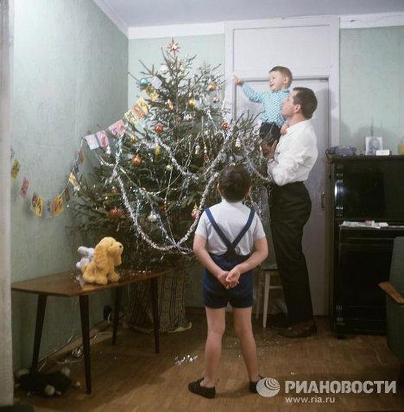 Советские утренники в фотографиях