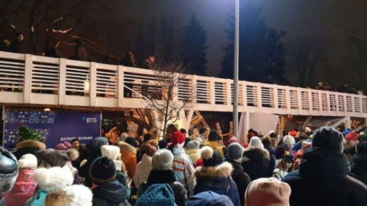«Чёткий сигнал»: эксперт об обрушении моста в парке Горького