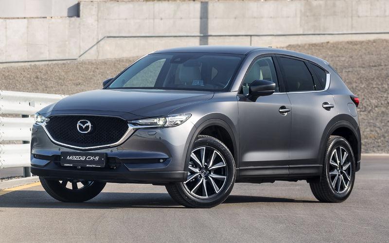 Mazda объявила рублевые цены на кроссовер CX-5 второго поколения
