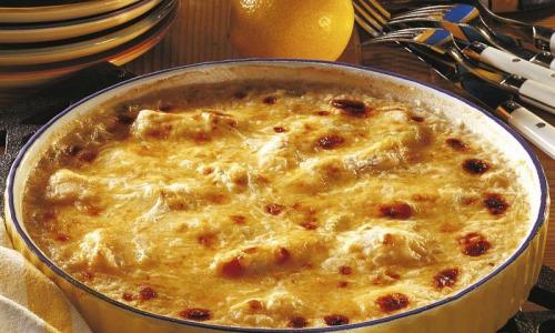 Рецепт дня: Рыба под сырной шубой