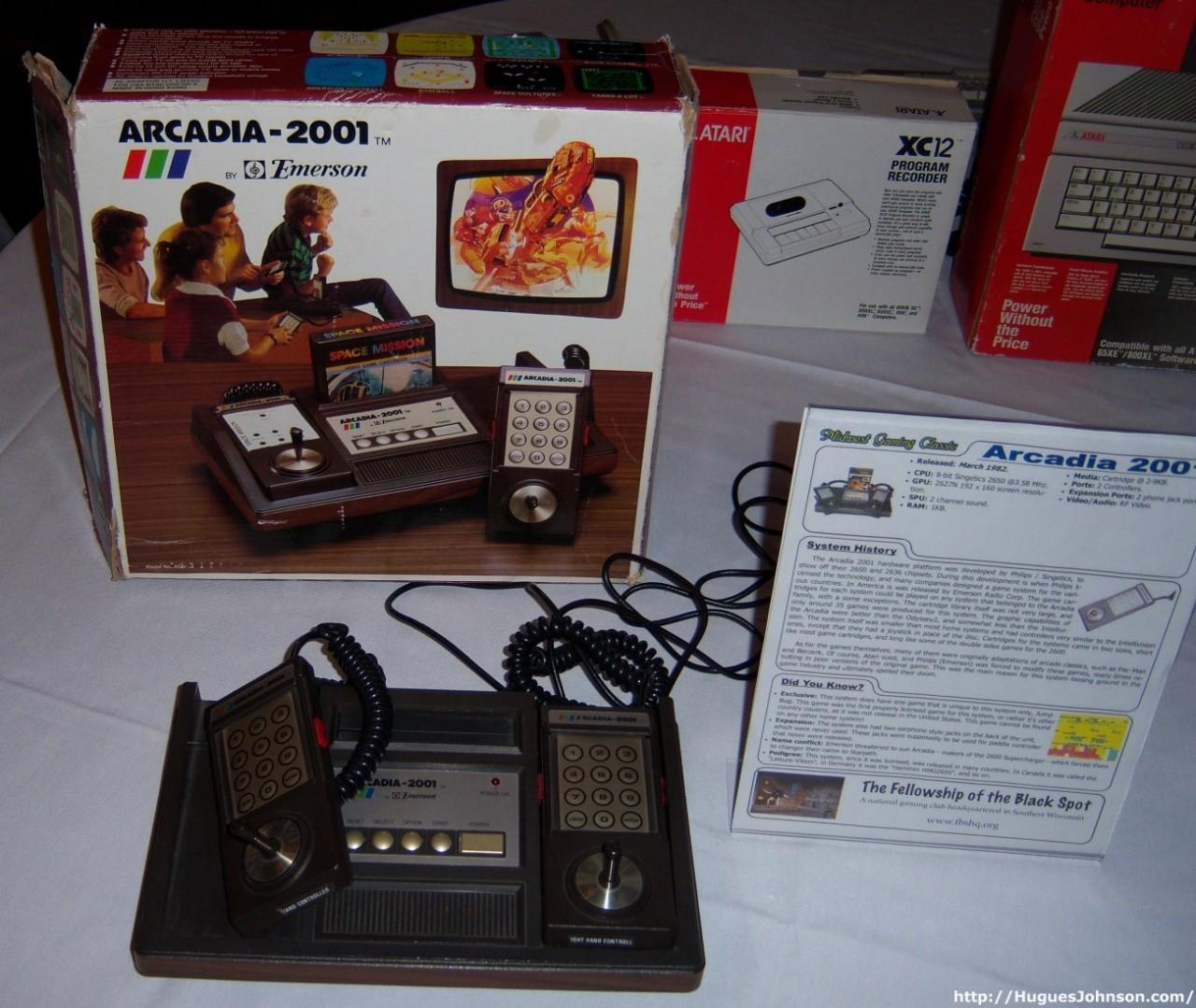 10. Arcadia 2001 Игровые приставки, игры, компьютеры, технологии
