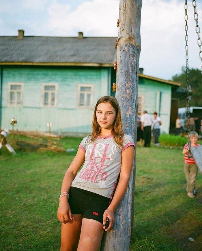 деревне девушка за деньги - 6