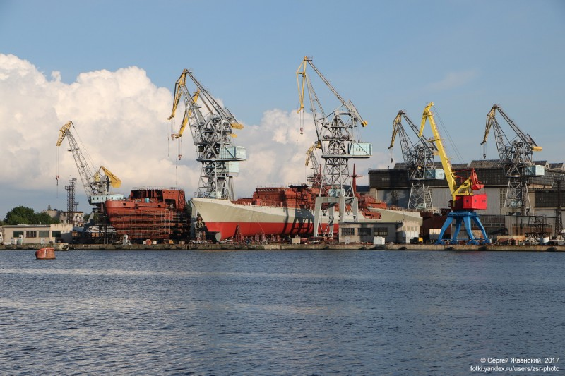 """Янтарь"" достроит для ВМС Индии два фрегата проекта 11356"