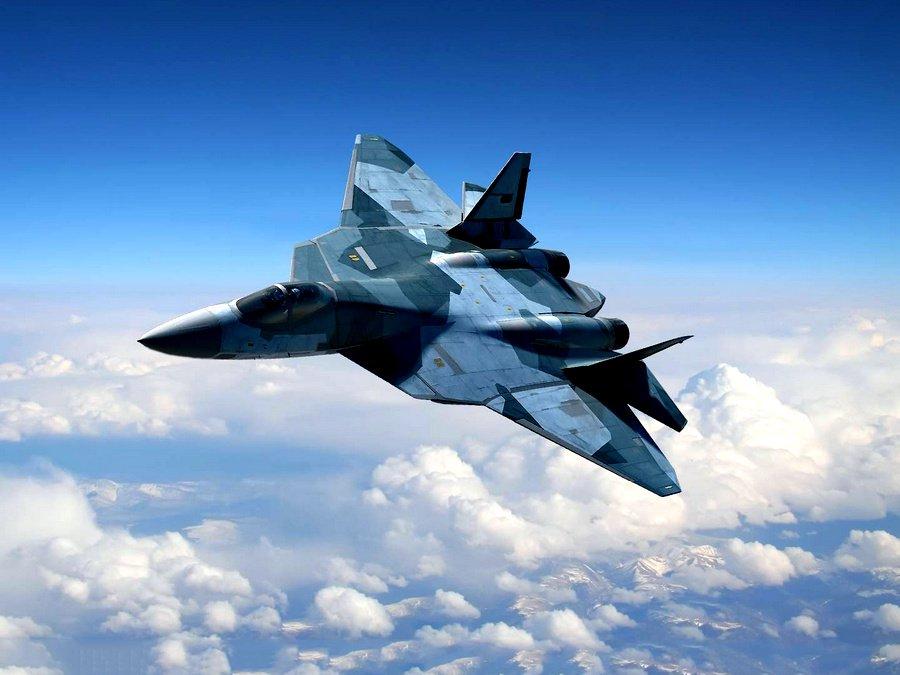Су-57 прибыл в Сирию для испытаний в боевых условиях