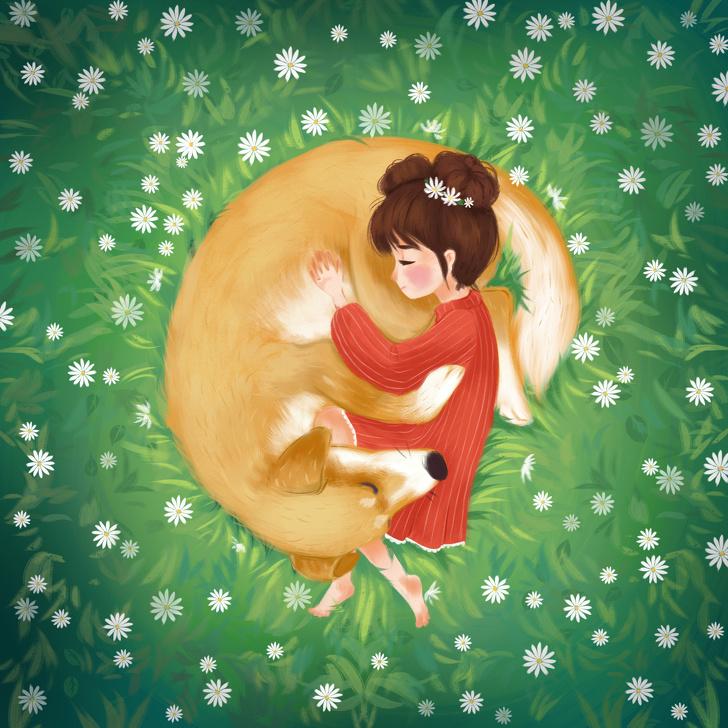 10 иллюстраций с добрыми пожеланиями, чтобы каждый мог набраться сил и поверить в лучшее