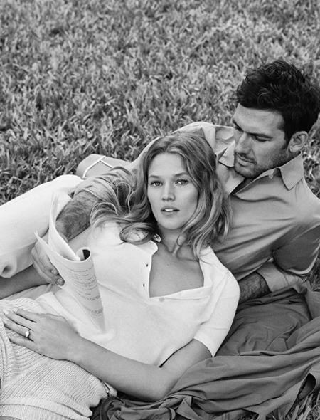 Модель Тони Гаррн и актер Алекс Петтифер поженились Свадьбы,Звездные свадьбы