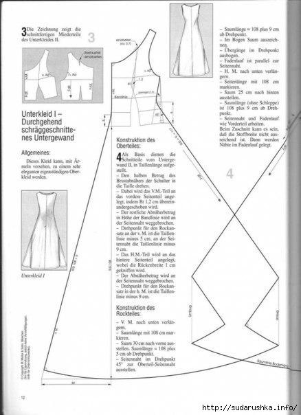 Схемы-выкройки фасонов в бохо стиле поделки