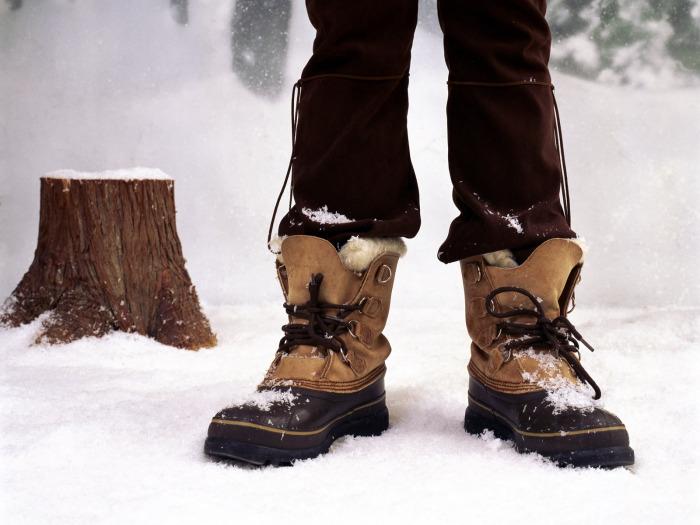 Утеплитель впитывает влагу, поэтому ноги начинают замерзать / Фото: freegreatpicture.com