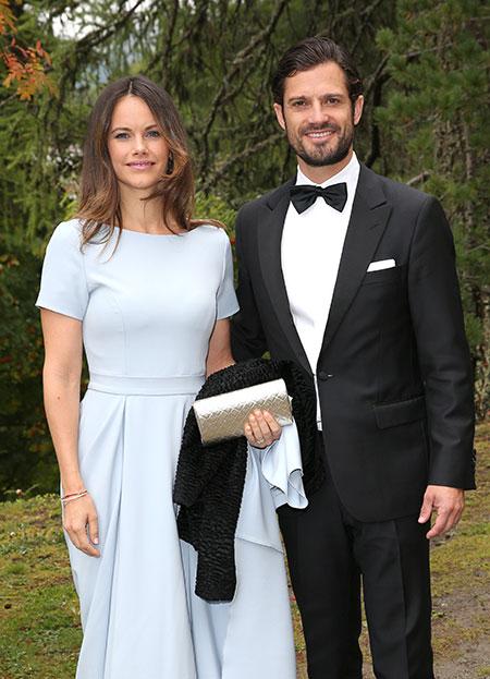 Принц Швеции Карл Филипп и принцесса София в третий раз стали родителями Монархи,Новости монархов
