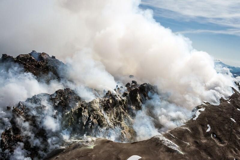 Гид по вулканам Камчатки вулканы,Камчатка,Россия