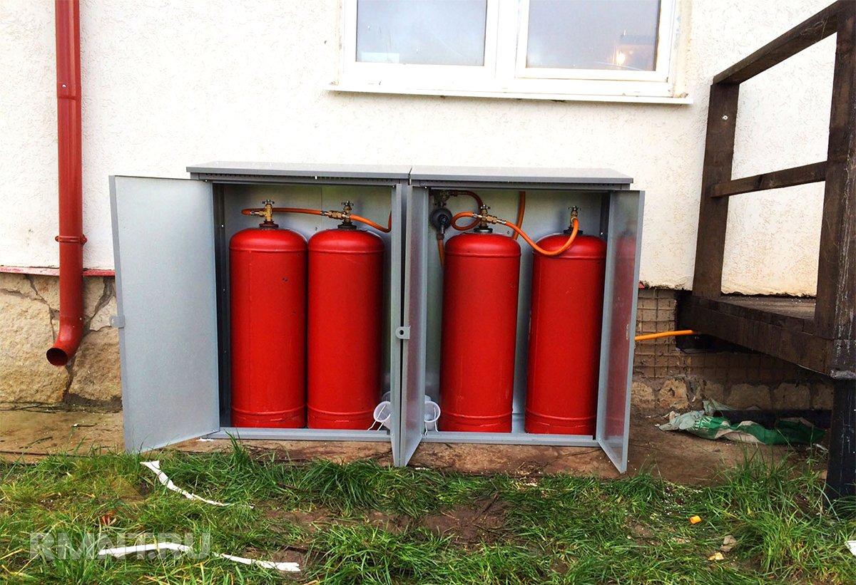 Выбираем и устанавливаем шкаф для газовых баллонов