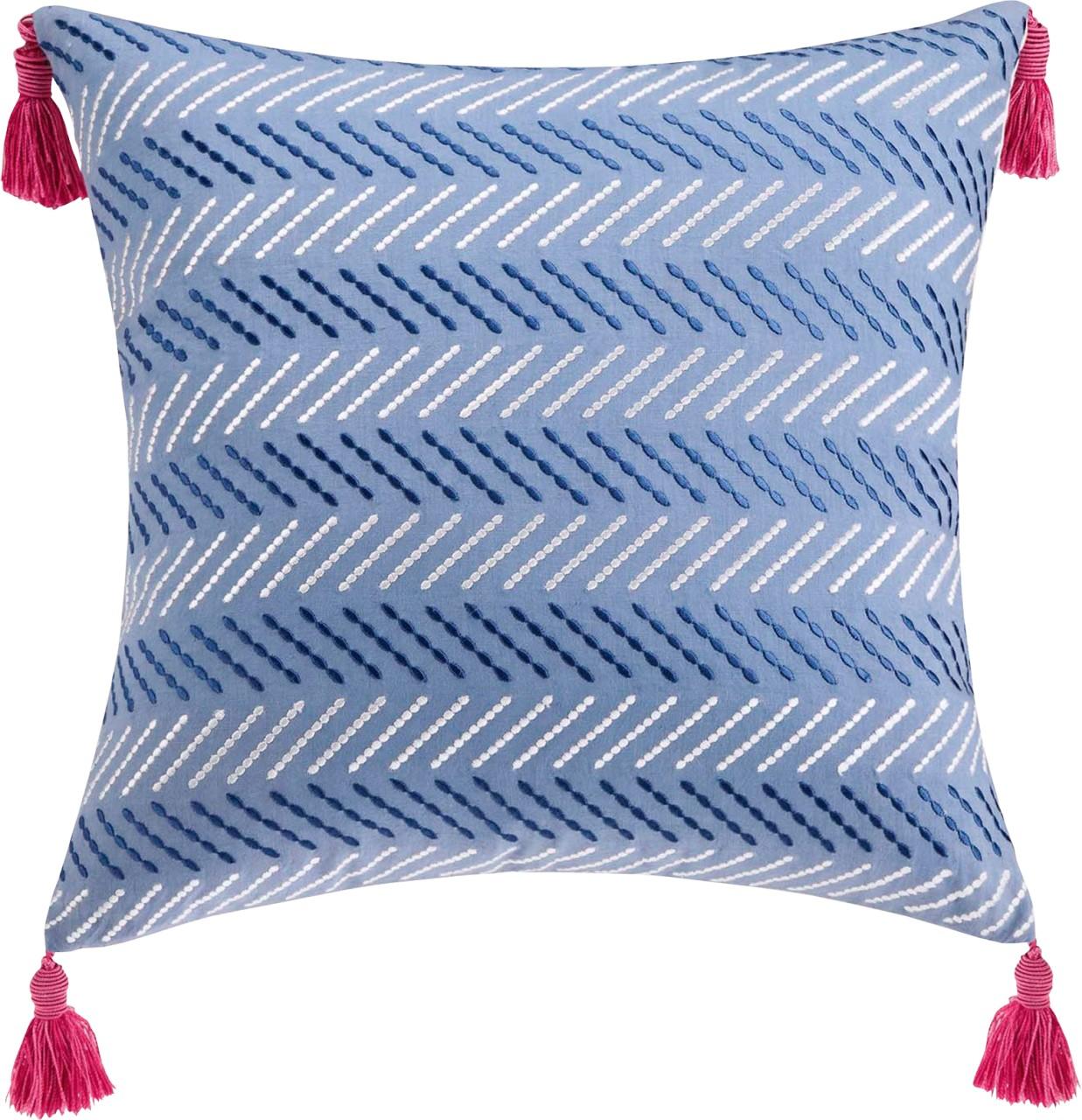 С подушкой