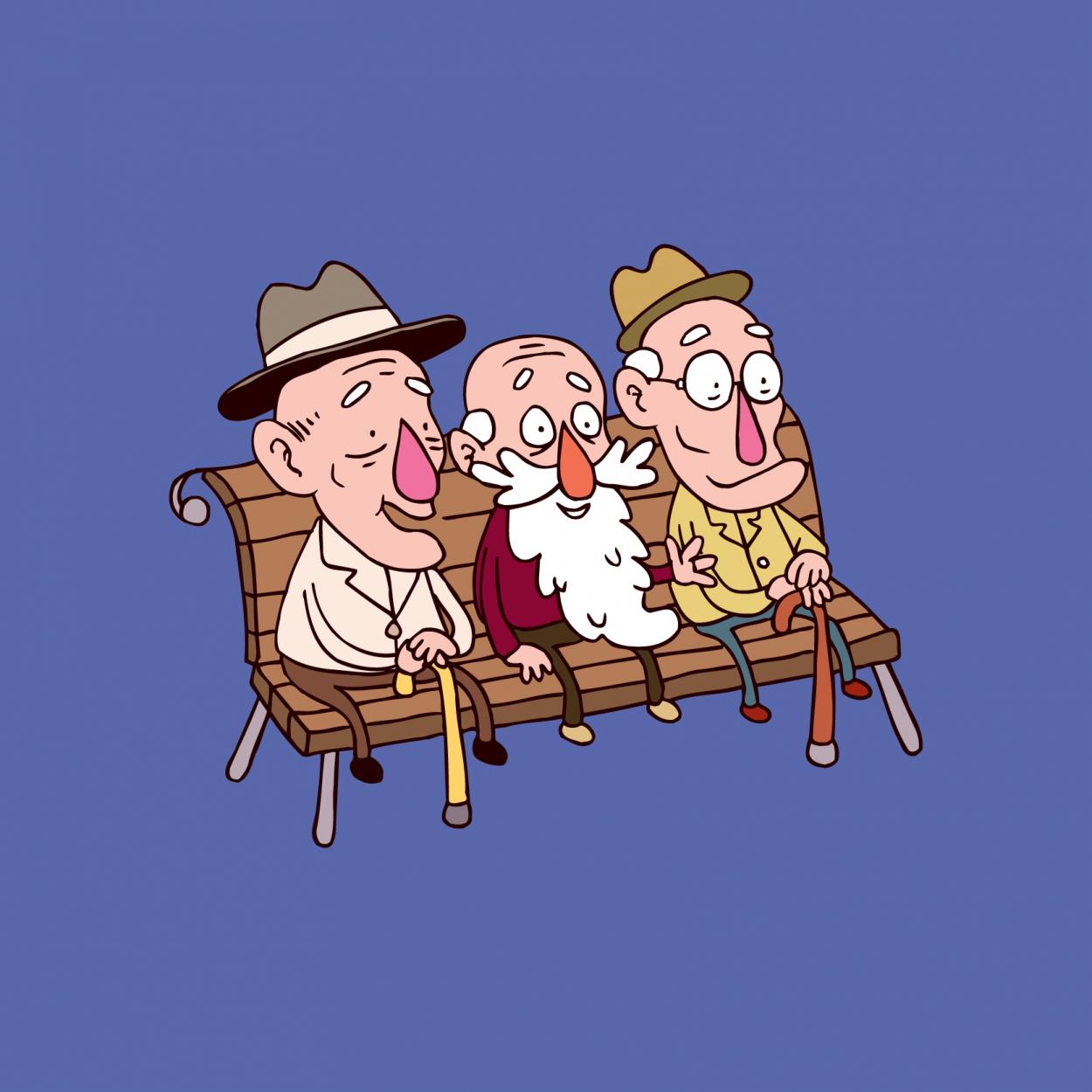 Старики с «железным» здоровьем