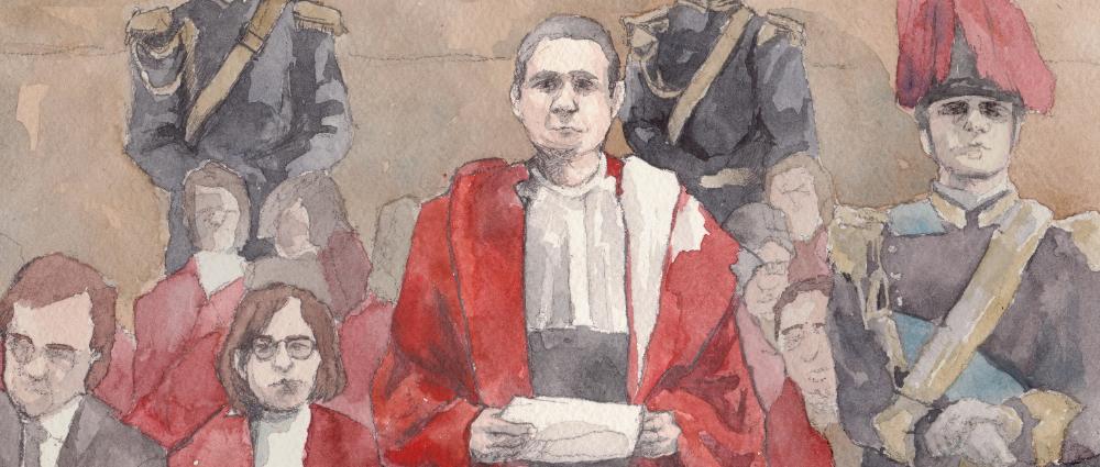 Процесс. Суд над Антонио Сальери