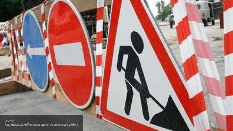В Пскове перекроют для автомобилистов Гражданскую улицу на выходные