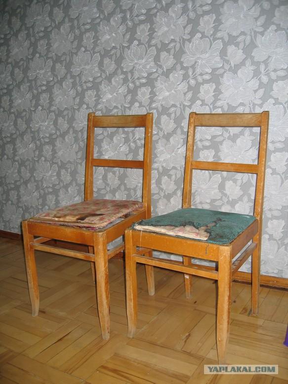 Как мы с Мартином стулья реставрировали