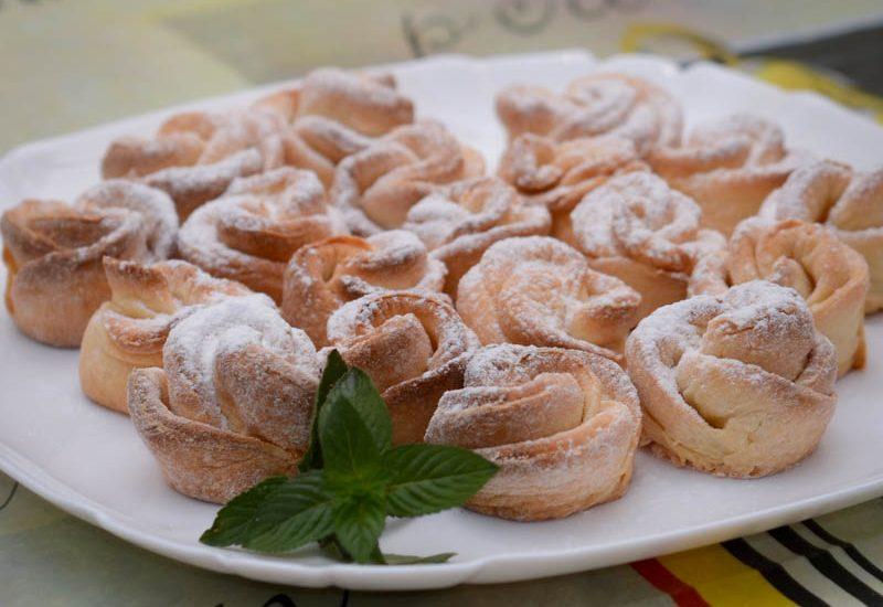 Творожное печенье «Роза»