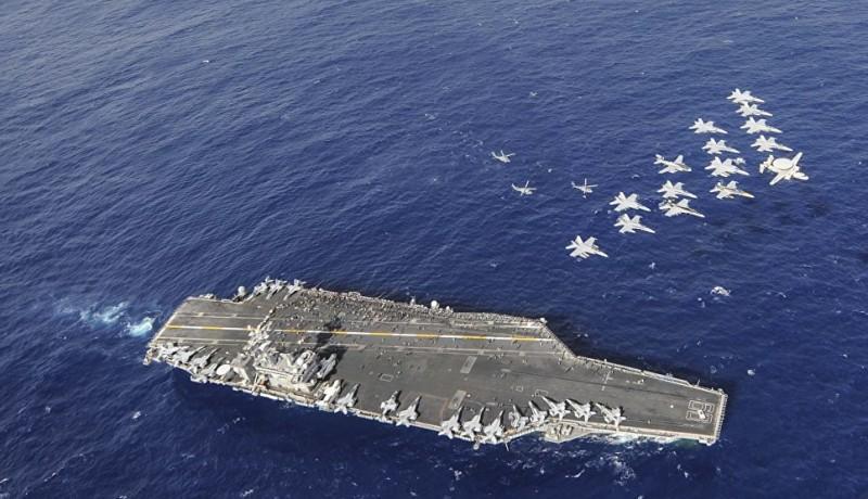 Беззащитные, убогие авианосцы США