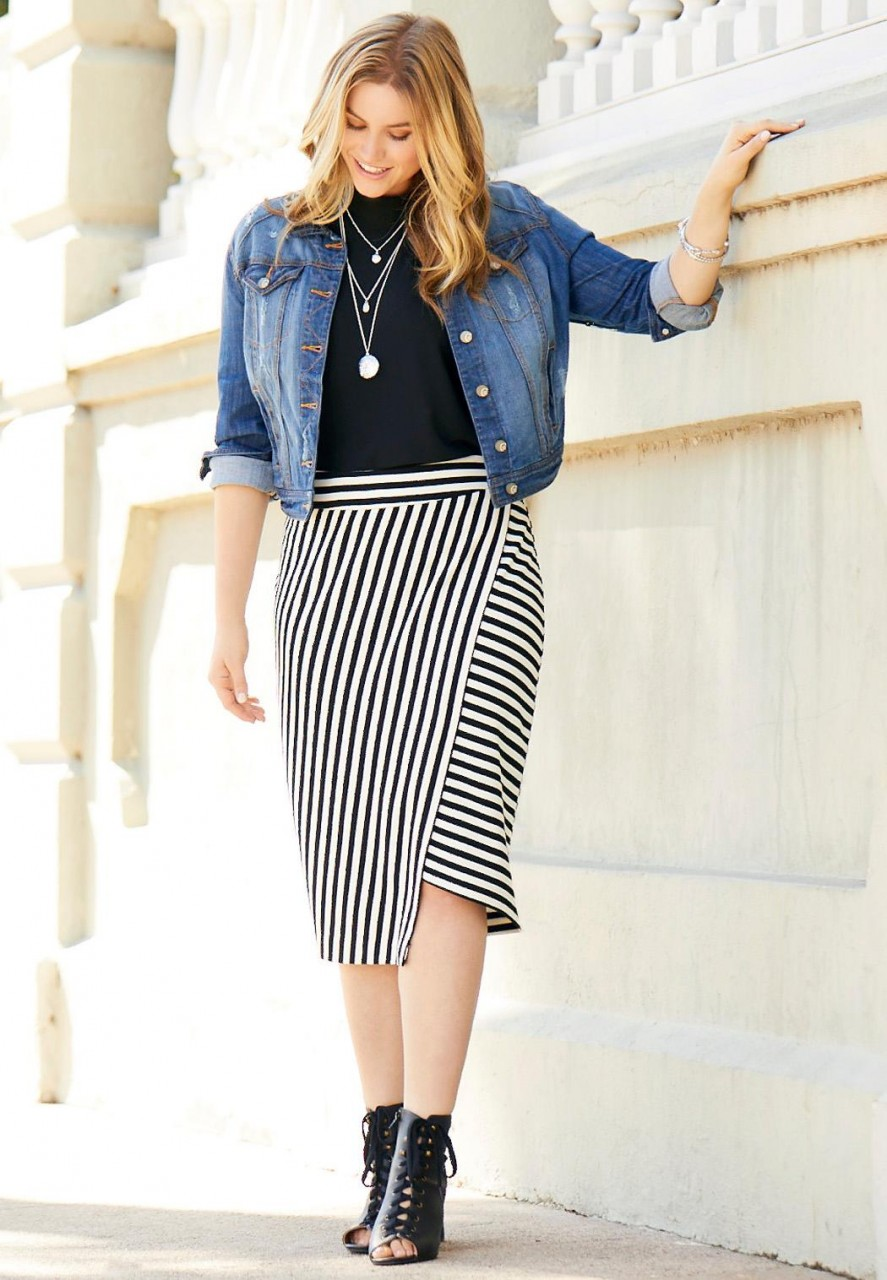10 лучших юбок для полных женщин которые подчеркнут достоинства и скроют недостатки