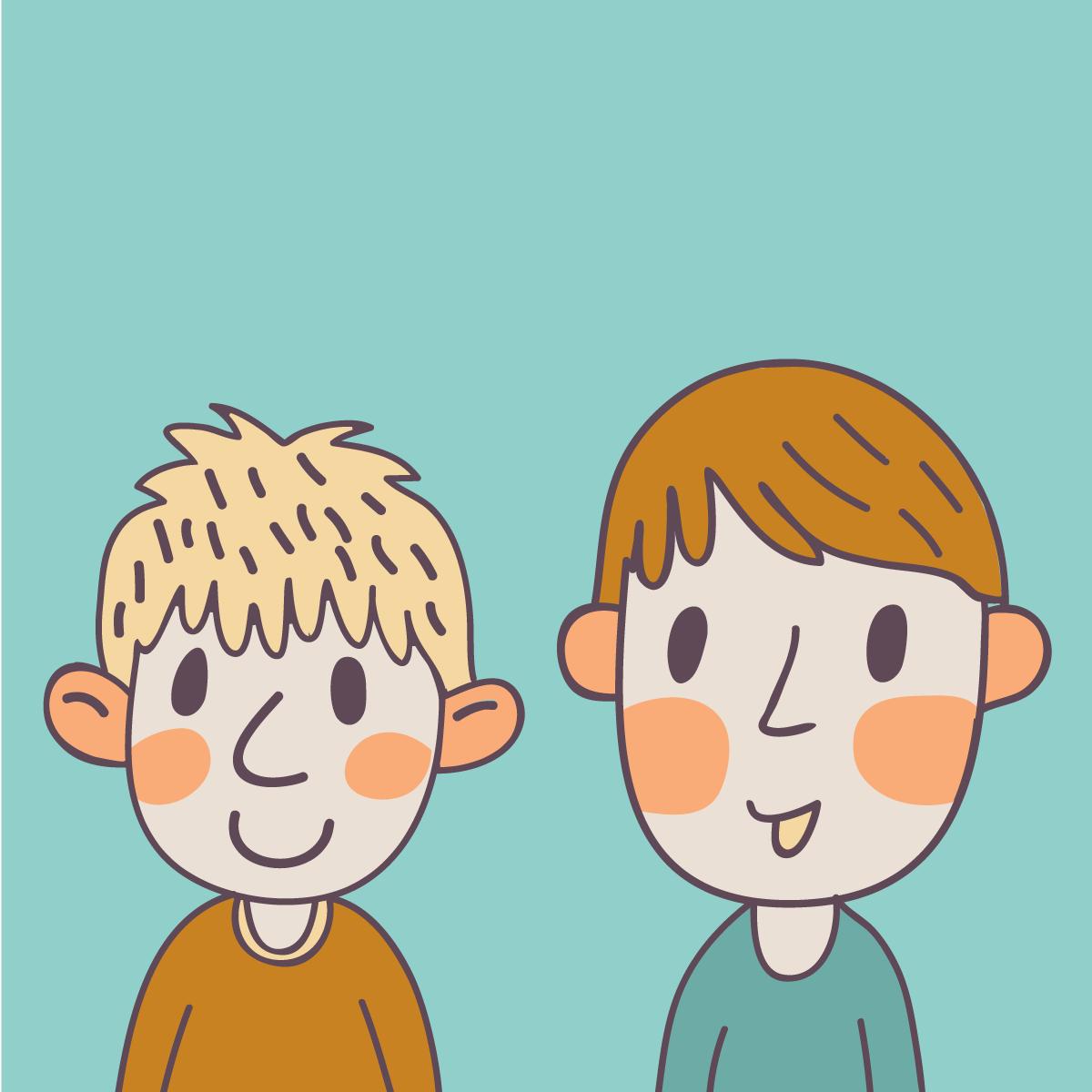 Анекдот про двух мальчишек, обратившихся запомощью кполицейскому