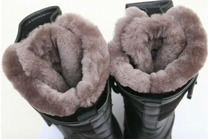 На холодные зимы лучше покупать обувь с натуральным мехом / Фото: hsnone.ru