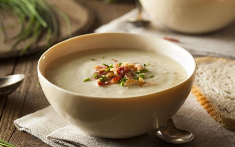 Картофельно-луковый суп