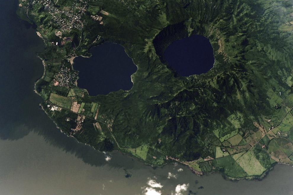 Манагуа — крупное пресноводное озеро
