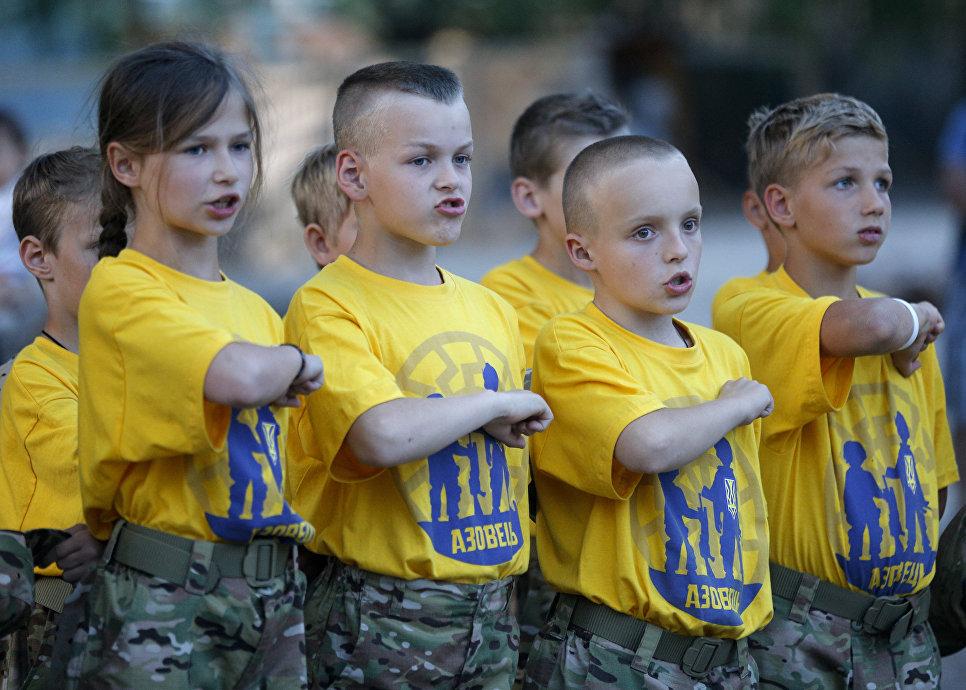 Американцы сообщили о подготовке на Украине отрядов детей-убийц