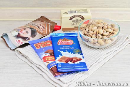 Приготовление рецепта Шоколадная помадка к чаю шаг 1