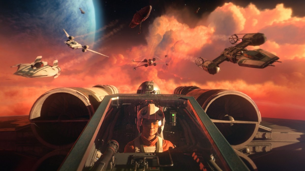 Обзор Star Wars: Squadrons action,adventures,fantasy,mmorpg,pc,ps,xbox,Аркады,Игры,Приключения,Стрелялки,Фентези,Шутеры