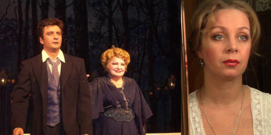 блондинка юлия зыкова актриса муж чубченко фото стояла непростая, ведь