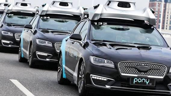 Китайская компания по производству беспилотных автомобилей Pony.ai была оценена в 5,3 млрд долларов