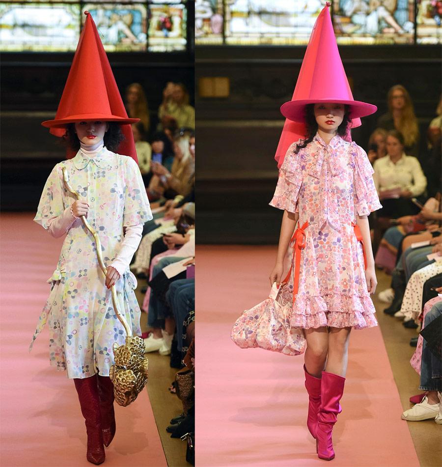 Женская мода весна-лето 2019 от Ryan Lo