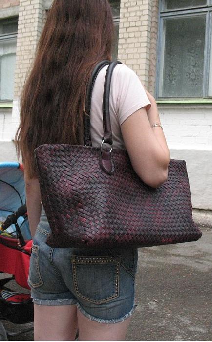 Делаем кожаную сумку из старых сапог: мастер-класс