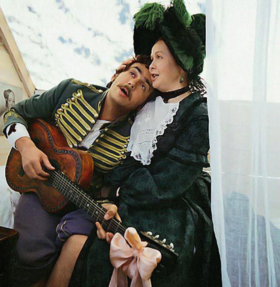 Последний муж - ее очень любил и старался сделать ее спокойной и счастливой.