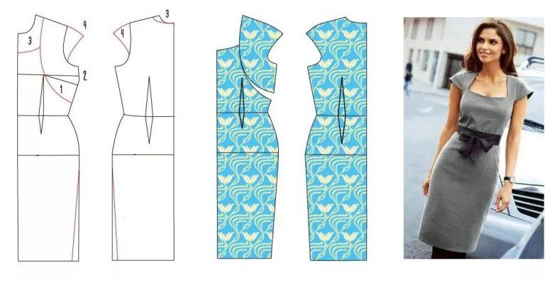 15 цельнокроеных модных выкроек для не умеющих шить. Убедитесь,  что шить может каждый!