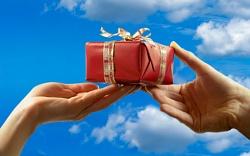 Умеете ли Вы принимать подар…