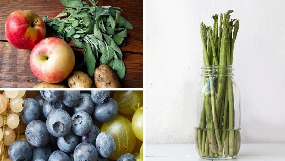 Несколько полезных советов по хранению овощей и фруктов, чтобы они были идеально свежими