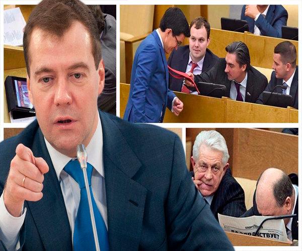 Медведев: для развития экономики России нужно нанять миллион новых чиновников