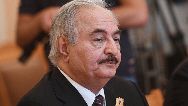 ПНС Ливии и маршал Халифа Хафтар обратились к России за военной помощью