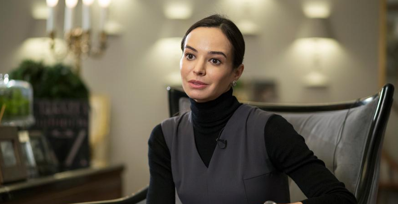 Балерина Диана Вишнева запус…