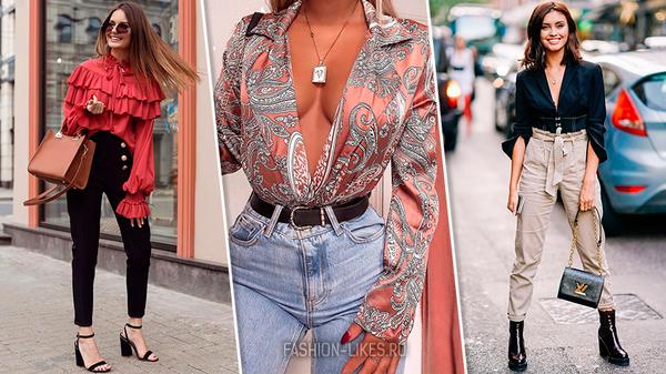 20 роскошных блузок, в котор…