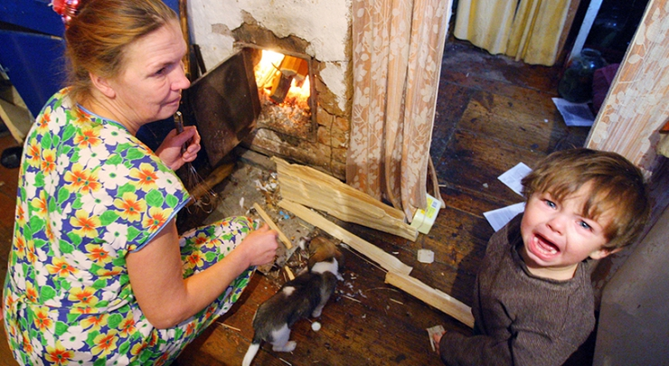 Минтруд признал, что дети для российской семьи - это фактор бедности