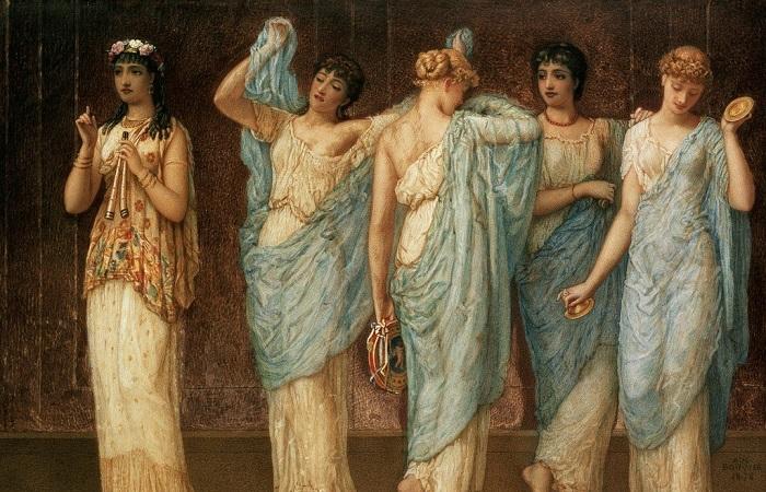 Навоз, вино и кожаные заменители мужей: Как в Древней Греции лечили женщин. Картина Аугустуса Жюля Бюве.