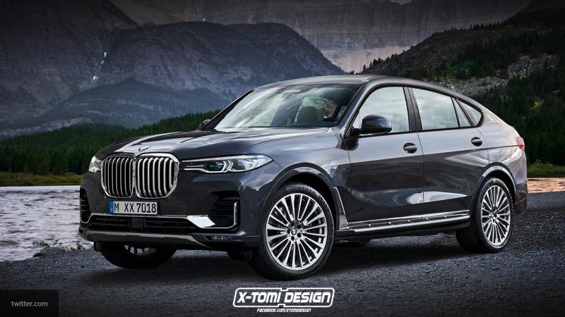 Автомобиль BMW X8 станет не только самым большим, но и самым дорогим в линейке бренда
